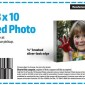 Walmart 8×10 Mounted Photo Coupon