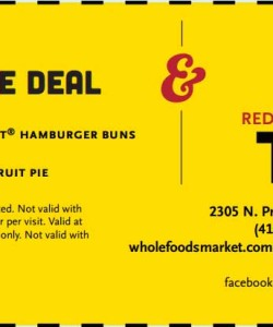 Whole Foods Market Coupon