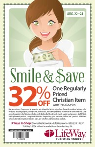Lifeway Christian Stores Discount Coupon