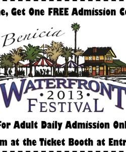 Benicia Waterfront Festival 2013