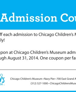 Chicago Children's Museum Discount Coupon