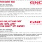 GNC Multi-discount coupons