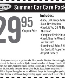 Goodyear Summer Car Care Discount Coupon