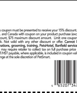 Petsmart Discount Coupon