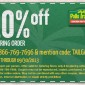 Pollo Tropical Catering Discount Coupon