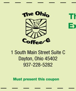 Ohio Coffee Company Expresso Bar Coupon