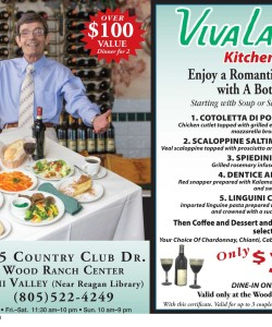 Viva La Pasta Discount Coupon