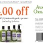 Whole Foods Avalon Organics Coupon