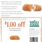 Whole Foods Market Ciabatta Bread Coupon