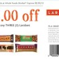 Whole Foods Larabar Coupon