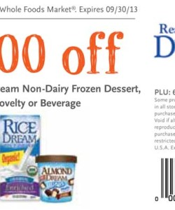 Whole Foods Dream Non-Dairy Frozen Yogurt