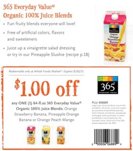 Whole Foods Market Organic Juice Blends