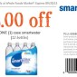 Whole Foods Smart Water Coupon