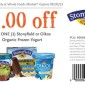 Whole Foods Oikos Frozen Yogurt Coupon