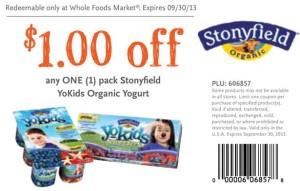 YoKids Organic Coupon