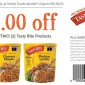 Whole Foods Tasty Bite Product Coupon