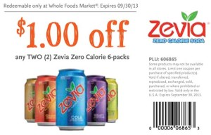 Whole Foods Zevia Zero Cola