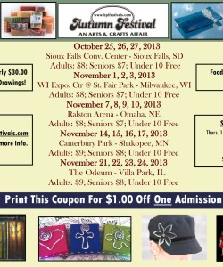 Autumn Festival Discount Coupon
