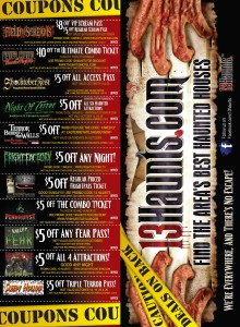 Halloween Haunts Horror Night Haunted House Coupons