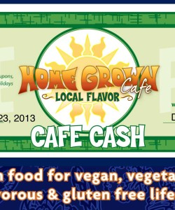 Home Grown Discount Coupon