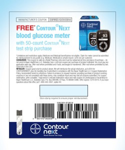 Bayer contour usb test strips coupon