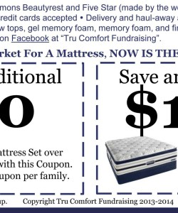 Bishop Ready Mattress Fundraising Coupons