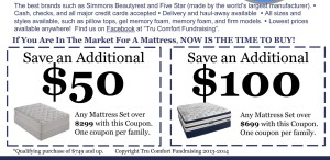 Bishop Ready High School Mattress Coupons