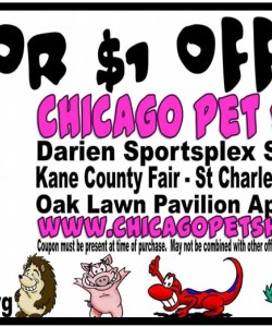 Chicago Pet Show Discount Coupon