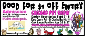 Chicago Pet show coupon