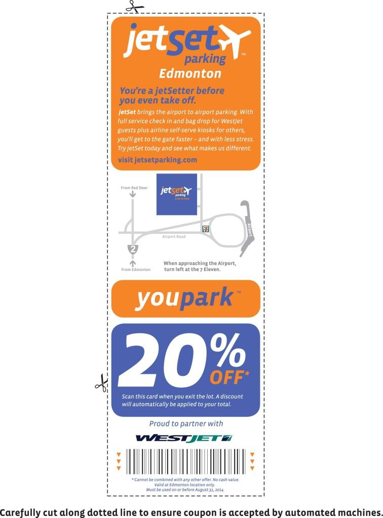 coupon jetset parking