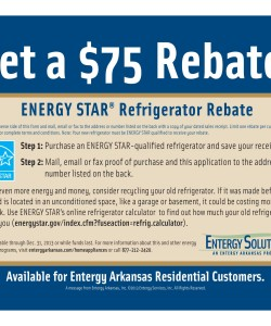 EnTergy Arkansas Energy Star Refrigerator Rebate