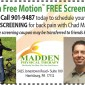 Free Back Pain Screening