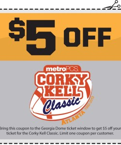 Corky Kell Classic Discount Admission Coupon