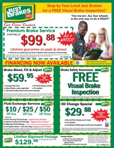 Just Brakes Discount Coupon