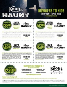 Knotts Berry Farm Coupon & Deal