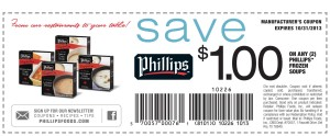 Phillips Foods Frozen Soup Coupons