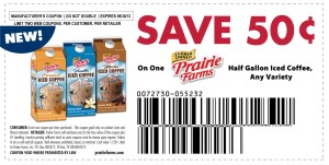 Prairie Farms Iced Coffee coupon