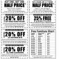 Sam Levitz Furniture Multi-discount coupon