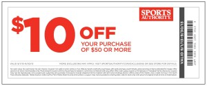 Sports Authority Coupon September 2013
