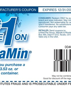 Tetramin Discount Coupon