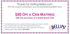 Bellini Crib Mattress Coupon