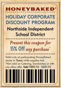 Honeybaked Ham Holiday Discount Coupon
