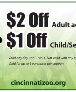 Nov 07,  · Cincinnati Zoo Coupon go to kabor.ml Total 16 active kabor.ml Promotion Codes & Deals are listed and the latest one is updated on November 19, ; 4 coupons and 12 deals which offer up to 50% Off, $3 Off and extra discount, make sure to use one of them when you're shopping for kabor.ml; Dealscove promise you.