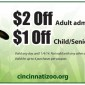 Cincinnati Zoo Admission Coupons