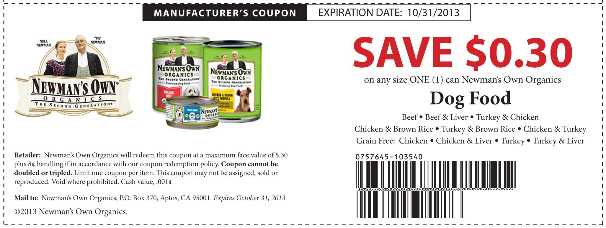 Discount grocery coupons
