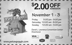 Pet Expo Pittsburgh Admission Coupon