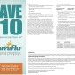 Tamiflu Save $10 Prescription Coupon