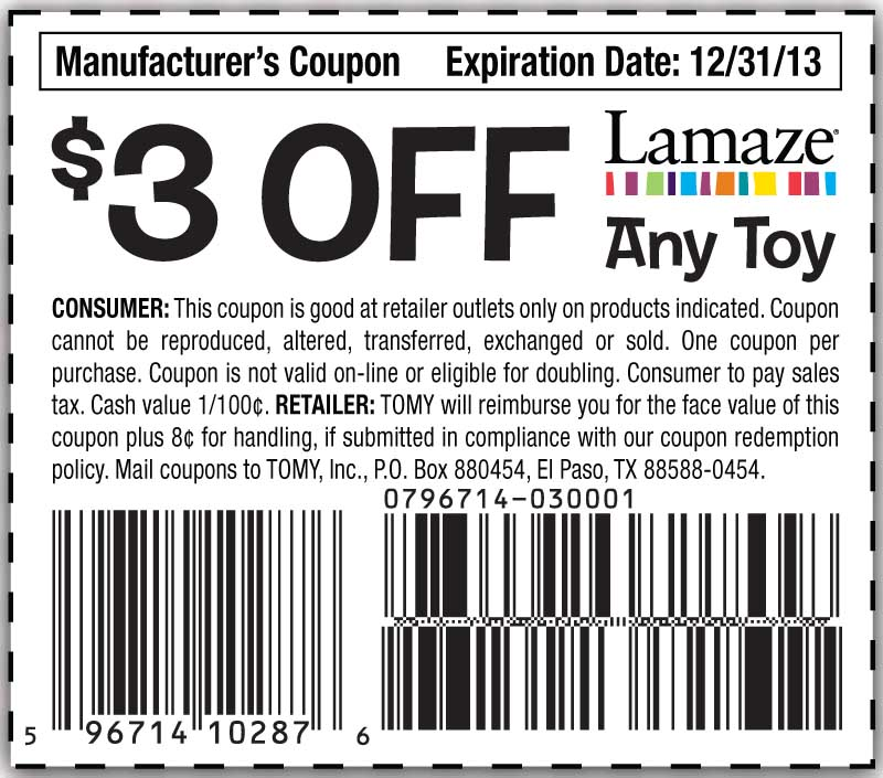 Lamaze International Promo Codes, Coupons And Sales For November It is simple and easy to receive the promotion with this offer from Lamaze International: Lamaze International Promo Codes, Coupons and Sales For November