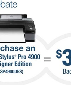 Epson Printer Coupon Stylus Pro 4900 Mail In Rebate