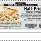 TooJays Half Off Dinner Entree Coupon April 2014